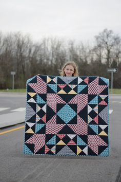 quilting: blast, the quilt {free pattern} || imagine gnats
