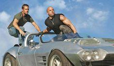 Walker y Vin Diesel en 'Fast&Furious'. EP