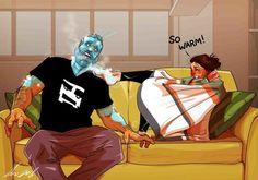 O dia a dia de um casal mostrado em 10 hilárias ilustrações 1