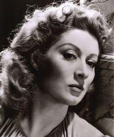 Greer Garson, actress.