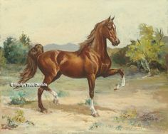Horse Paintings & Scenic Horse Art | WoodSong Institute