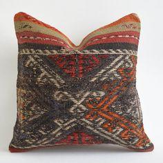 Sukan Vintage Kilim Pillow Decorative Kilim Pillows Hand by sukan, $29.95