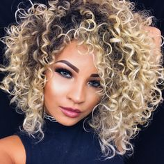 Lace Frontal Wigs Quick Hairstyles For Curly Hair Medium Curly Layered Hairstyles Best Women Curly Wigs Curly Hair With Bangs Q Hair, Curly Hair With Bangs, Short Curly Hair, Curly Hair Cuts, Curly Hair Styles, Natural Hair Styles, Quick Hairstyles, Hairstyles With Bangs, Pretty Hairstyles