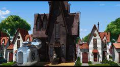 Gru's house | Despicable Me 3D - Look familiar??