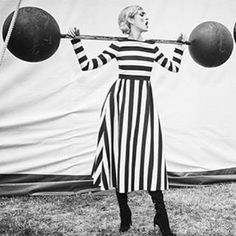 Sunday circus tricks in #fallwinter1516 for @bazaaruk model @francescoombe