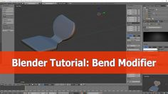 In this Blender tutorial I show how to use the Bend modifier. I heard that it should be hard to use but as you got used to the feature, it is really simple a...