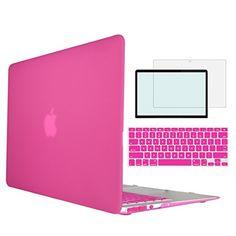 Tojia Macbook Pro 13 Case,4 in 1 Plastic Matte Protective...