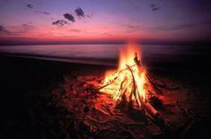 Photo about Blazing campfire at sunset along the beautiful beach of Lake Superior in northern Michigan. Image of pretty, lake, camp - 33447656 Lake Superior, Ocean Beach, Summer Beach, Lake Beach, Lake Michigan Beaches, Beach Bonfire, Paradise Found, 3d Texture, Arran