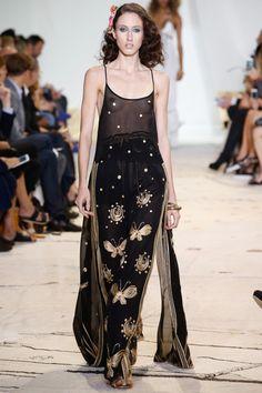 Diane von Fürstenberg | New York Fashion Week | Spring-Summer 2016  Model: Anna Cleveland