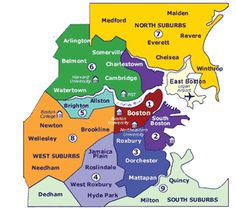 boston neighborhoods | Emerson College students live in many neighborhoods that are close to ...