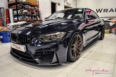 #BMW #F82 #M4 #Coupe #Midnight #Blue