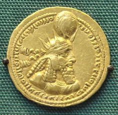 Sassanid king Bahram 1st Gold Coin.Bahram 1st (Shah of Persia 273–276) was the fourth Sassanid emperor of the Persian Empire. He was the eldest son of Shapour 1st and succeeded his brother Hormazd 1 (r. 272–273), who had reigned for only a year.