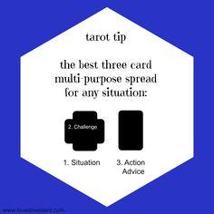 best 3 card tarot spreads