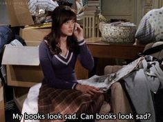 Favorite quote from Gilmore Girls