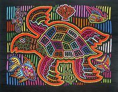 turtle, Panamá Molas