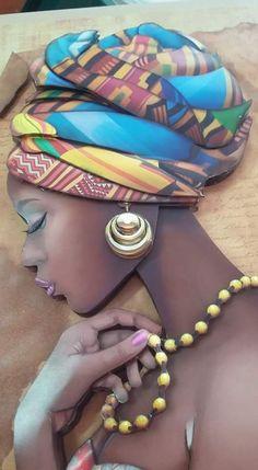 Com - Virginia - - Best 12 - Seite 420171840234040807 - SkillOfKing.Com - Virginia Black Love Art, Black Girl Art, Art Girl, African Beauty, African Women, African Style, Afrique Art, African Art Paintings, Black Art Pictures