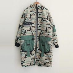 Online shopping from a great selection at Women's Fashion Store. Camouflage Fashion, Camo Fashion, Womens Fashion, Fashion Top, Fashion Fall, Coats For Women, Jackets For Women, Clothes For Women, Painted Denim Jacket