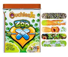 Zoo bandaids, very animalistic. Band Aid, Cool Bands, Adhesive, Parenting, Personal Care, Camping Ideas, Health, Cute, Kids