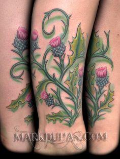 Scottish Thistle ~ Mark Duhan