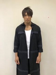 Androgynous Fashion, Androgyny, Denim Button Up, Button Up Shirts, Kota Ibushi, Kenny Omega, Tokyo, Two By Two, Wrestling