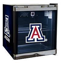 NCAA Glass Door Refrigerated Beverage Center 1.8 cu. ft. capacity-