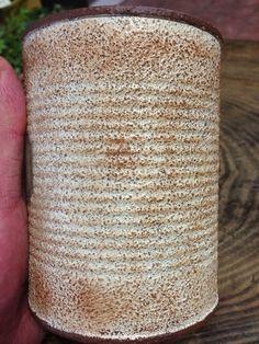 ***EGOIST流のザラザラリメ缶*** Canning, Life, Ideas, Vases, Mason Jar Decorating, Pintura, Home Canning, Thoughts, Conservation