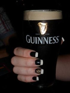 Guinness nails!