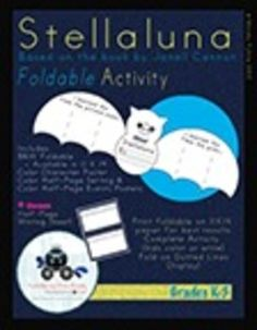 """Use this Stellaluna Foldable to engage kiddos and deepen understanding of the text. Includes anchor charts with definitions of """"character,"""" """"settin. Definition Of Character, Stellaluna, School Fun, School Stuff, Character And Setting, Teaching Resources, Teaching Ideas, First Grade Teachers, Author Studies"""
