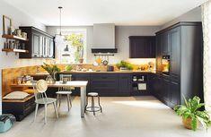 Vito, Küchen zum Leben - Leiner Vito, Chrome, Kitchen Cabinets, Modern, Table, Furniture, Home Decor, Products, Custom Kitchens