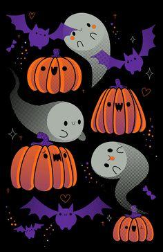 """mrspumpkinqueen: """"[X] """" Halloween Iii, Halloween Drawings, Halloween Items, Diy Halloween Decorations, Holidays Halloween, Scary Halloween, Happy Halloween, Kawaii Halloween, Vintage Halloween"""