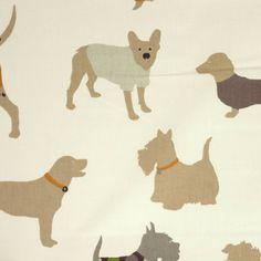 Man's Best Friend Fabric - Caramel - Prestigious Textiles It's a Dog's Life Fabrics Collection Mans Best Friend, Best Friends, Prestigious Textiles, Fabric Houses, Textile Fabrics, Dog Life, Printing On Fabric, Art Decor, Caramel