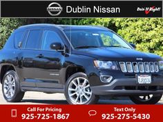2014 Jeep Compass Limited $21,800 Miles 925 725 1867 Transmission:  Automatic #Jeep · Jeep CompassDublinChrysler, Dodge ...