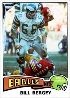 Bill Bergey Philadelphia Eagles