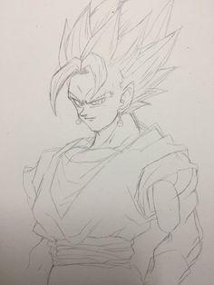 Embedded Dragon Ball Z, Dbz Manga, Dbz Drawings, Vegito Y Gogeta, Dragon Images, Graffiti Drawing, Anime Expo, Anime Sketch, Cultura Pop
