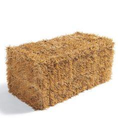 how to make fake straw bales