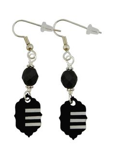 Unique Creations — Soul Eater Inspired Earrings,   anime manga jewelry