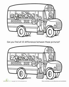 Here's a fun way to pass the time on a road trip, while waiting at the doctor's office, or justf for fun. Find all 12 differences in these pictures?