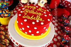 The Simple Life: Minnie Mouse Cake