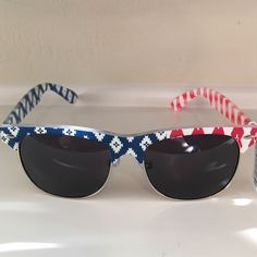 American flag aviators  Get them for the 4th! So cute! Accessories Sunglasses