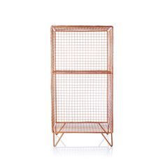 Buy Grid Two Shelf Storage Unit from Oliver Bonas
