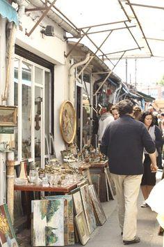 Inspiración. París, mercado de las pulgas de Clinancourt