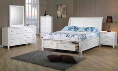 COF400239 Bedroom in White