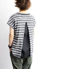 add back panel to shirt.  * I have done this before as well as to the sides., using leftover fabrics and also other shirts.   Love it.