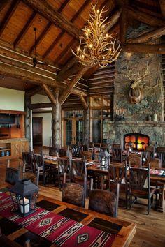 Brush Creek Ranch & Spa  in Saratoga, Wyoming.