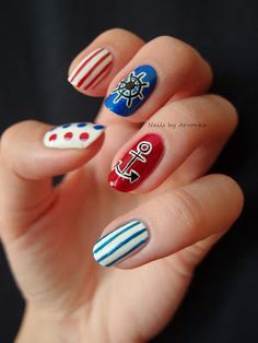 Nails by Arvonka: #nail #nails #nailart
