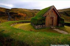 """Eco-friendly, energy-efficient dwellings, otherwise known as """"Turf houses"""" were popular among Icelanders centuries before being eco-friendly was popular!"""