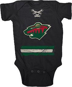 Old Time Hockey Minnesota Wild Infant Beeler Creeper - Shop.NHL.com