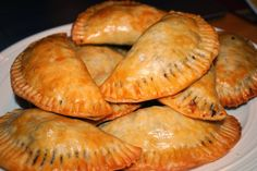 Baked Beef Empanadas ... a healthier twist on a classic...and SO easy!!! These were gone in 5 minutes at my house!