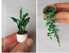 plant tutorial, made from recycled plastic