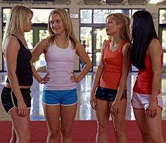 Bring it on Early 2000s Fashion, 90s Fashion, Cute Workout Outfits, American Teen, Lauren London, Hot Cheerleaders, Hayden Panettiere, Chick Flicks, Christina Milian